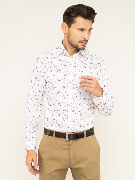 Eton Marškiniai 100000494 Balta Slim Fit