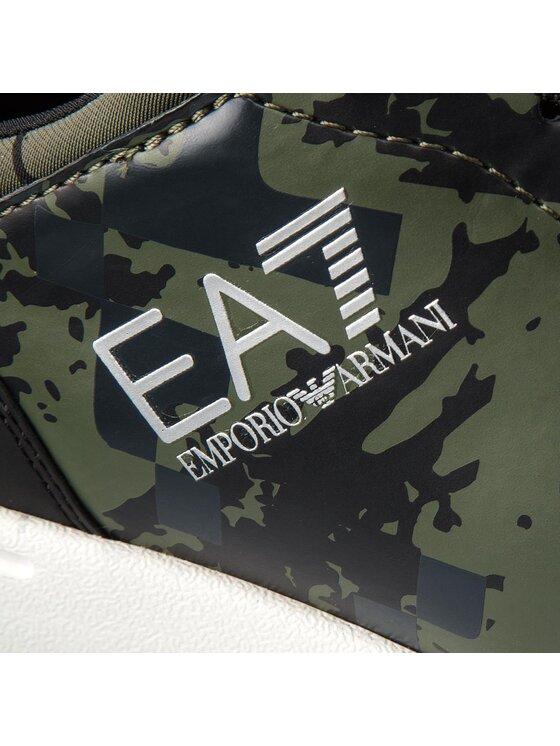 EA7 Emporio Armani EA7 Emporio Armani Sneakersy X8X010 XK010 A001 Zielony