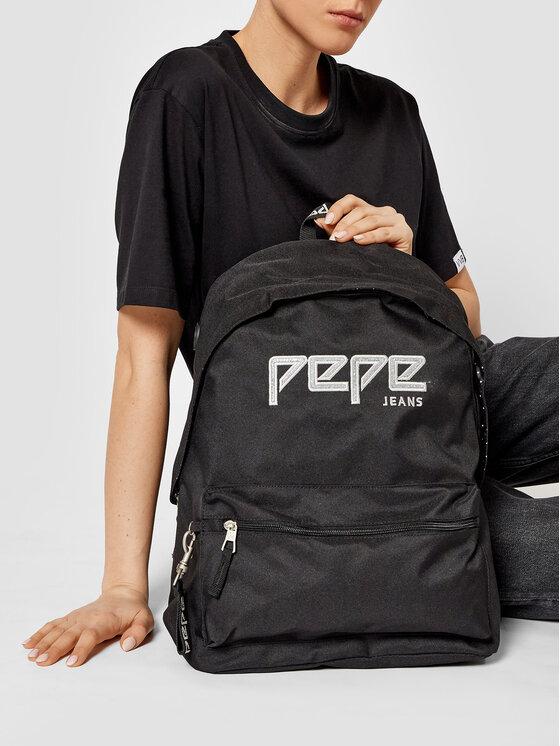 Pepe Jeans Pepe Jeans Plecak Mochilla 6392361 Czarny