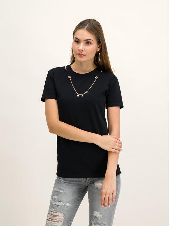 My Twin My Twin T-Shirt 192MT2380 Czarny Regular Fit