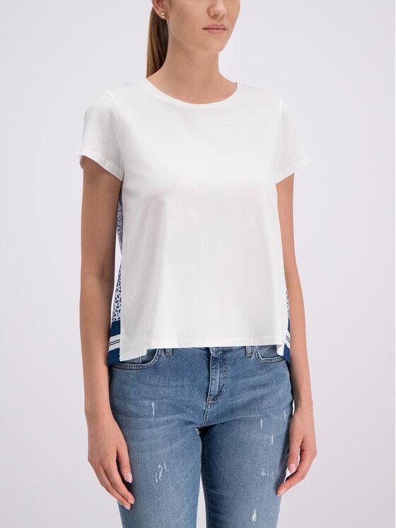 Marella Marella Sport Блуза 39710495 Бял Regular Fit