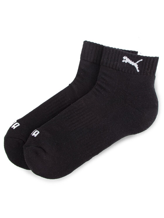 Puma Puma Set di 2 paia di calzini corti unisex 261086001 Nero