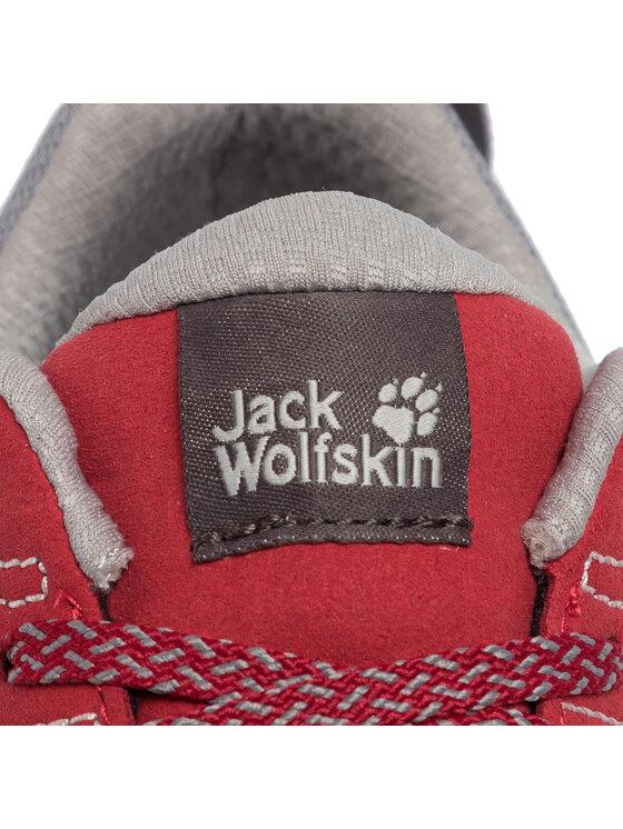 Jack Wolfskin Jack Wolfskin Trekingová obuv Scrambler Low W 4036671 Červená