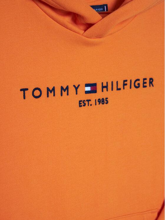 Tommy Hilfiger Tommy Hilfiger Mikina Essential KB0KB05796 D Oranžová Regular Fit