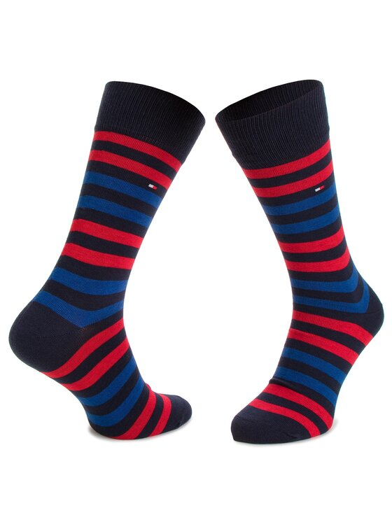 TOMMY HILFIGER TOMMY HILFIGER Vyriškų ilgų kojinių komplektas (5 poros) 482010001 Tamsiai mėlyna
