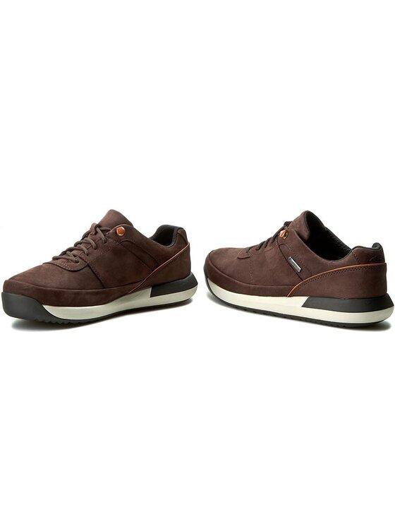 Clarks Clarks Κλειστά παπούτσια Johto Lace Gtx 261197647 Καφέ