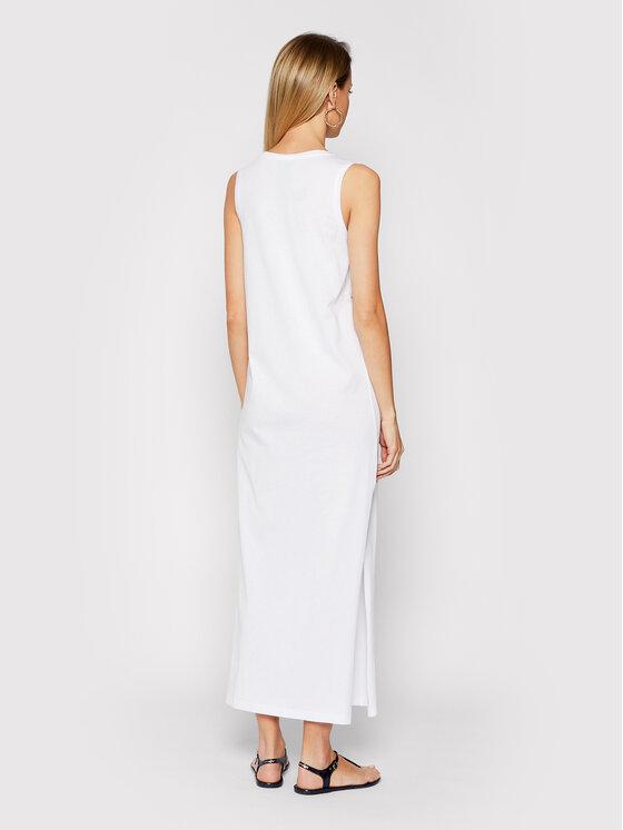 Emporio Armani Emporio Armani Sukienka plażowa EMPORIO ARMANI 262635 1P340 71610 Biały Regular Fit