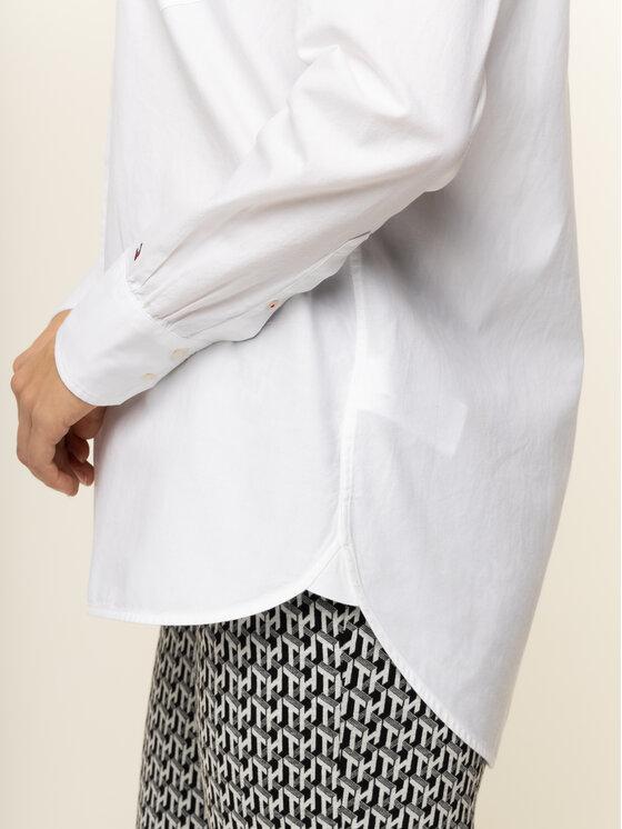 Tommy Hilfiger Tommy Hilfiger Marškiniai Della WW0WW26858 Mėlyna Slim Fit
