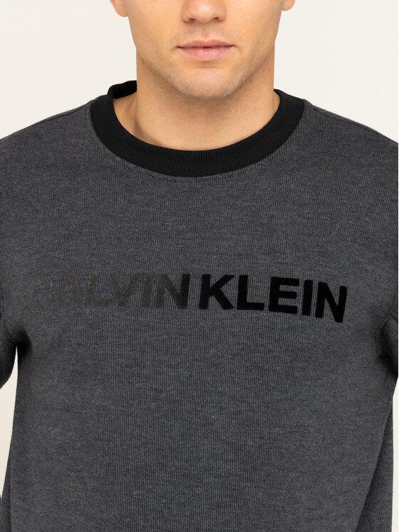 Calvin Klein Calvin Klein Пуловер Tone On Tone Logo K10K104953 Сив Regular Fit