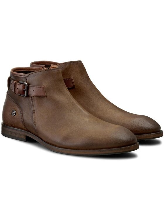 Tommy Hilfiger Tommy Hilfiger Šnurovacia obuv DENIM Jack 3C EM56822052 Hnedá