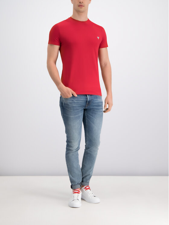 Guess Guess Jeansy Skinny Fit M93AN1 D3I31 Granatowy Skinny Fit