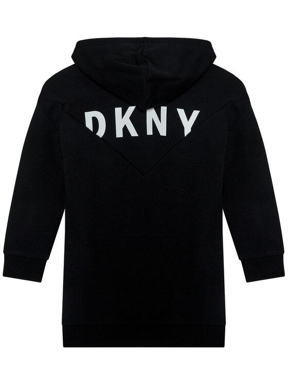 DKNY DKNY Bluza D35Q98 D Czarny Regular Fit