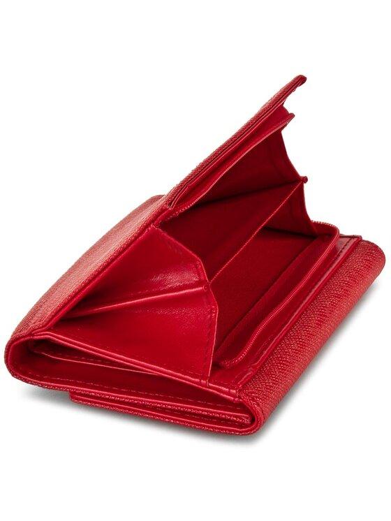 Liu Jo Liu Jo Duży Portfel Damski Portafoglio C/Patta A66127 E0087 Czerwony