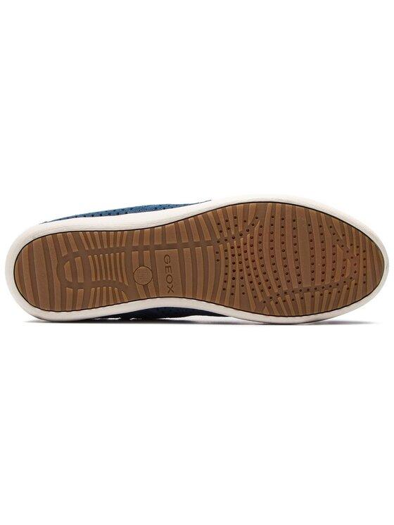 Geox Geox Sneakersy D Myria B D8268B 00022 C4008 Niebieski