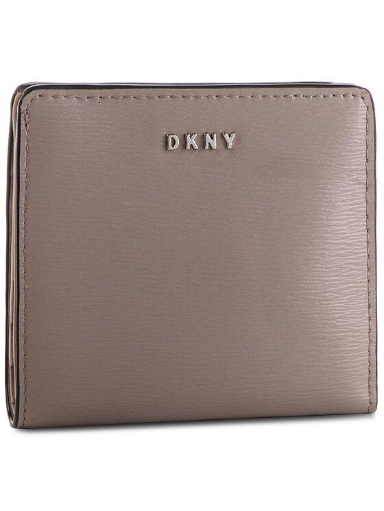 DKNY DKNY Malá dámská peněženka Bryant Bifold Wallet R83Z3657 Šedá