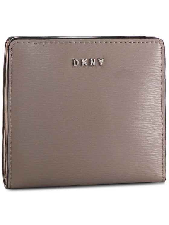 DKNY DKNY Portefeuille femme petit format Bryant Bifold Wallet R83Z3657 Gris
