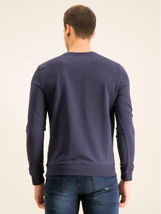 Guess Guess Sweatshirt M01Q54 K6ZS0 Bleu marine Slim Fit