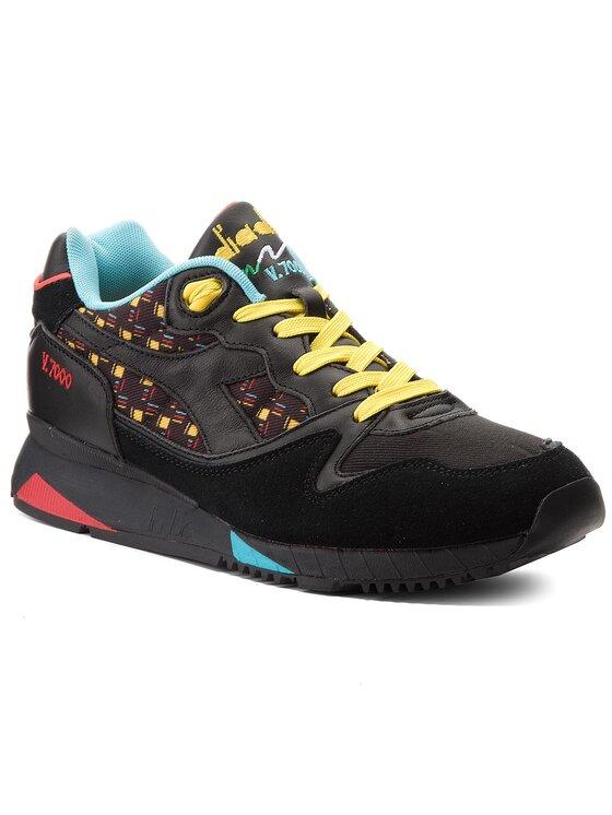 Diadora Diadora Sneakersy V7000 Little Italy 501.171059 01 80013 Czarny