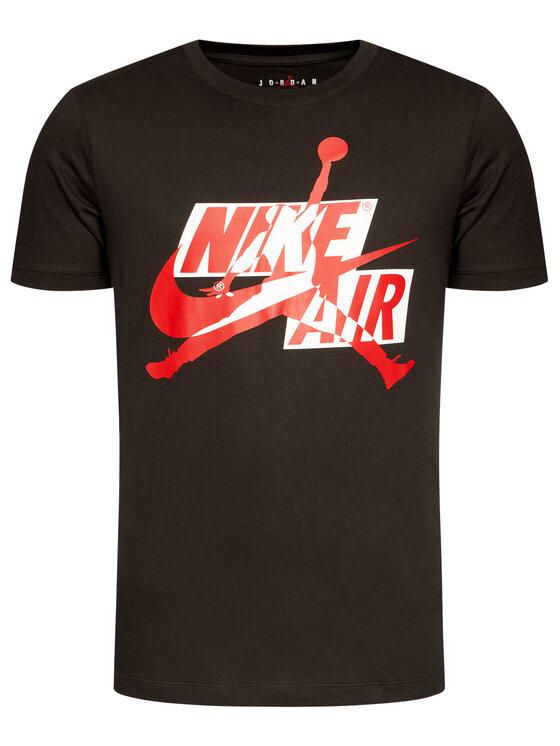 Nike Nike T-Shirt Jordan Jumpman Classics Hbr CU9570 Czarny Standard Fit