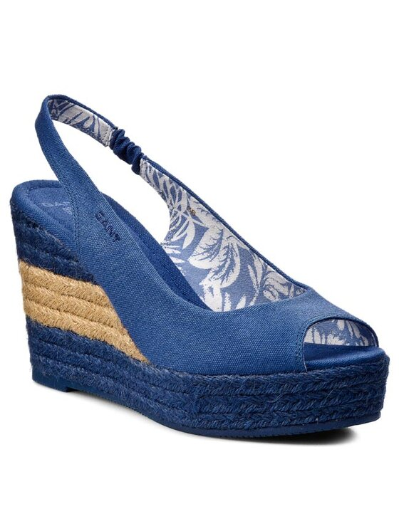 Gant Gant Espadrilky Stella 10568539 Modrá