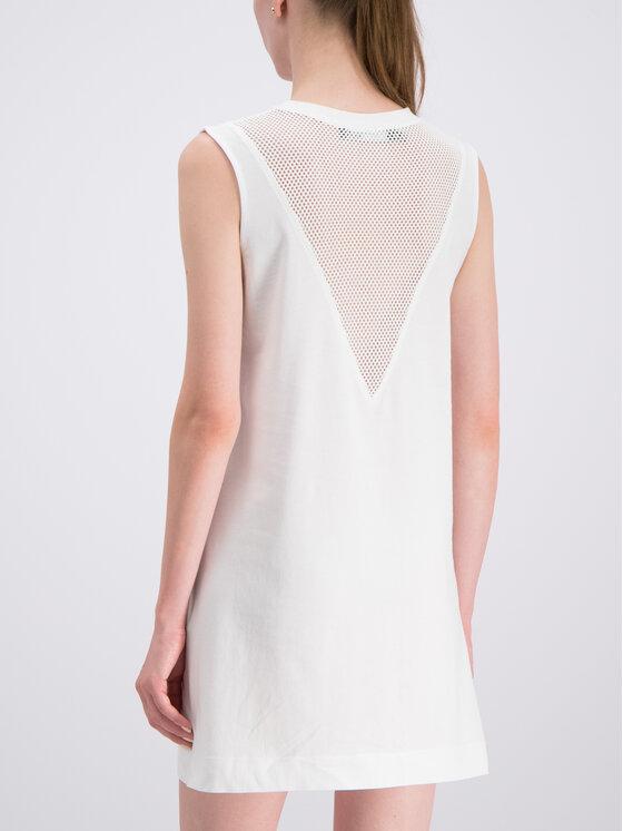 LOVE MOSCHINO LOVE MOSCHINO Robe de jour W5A9701M3517 Blanc Regular Fit