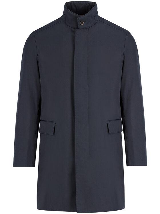 Strellson Demisezoninis paltas 30017543 Tamsiai mėlyna Regular Fit