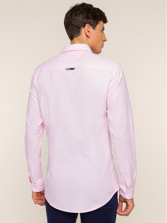 Tommy Jeans Tommy Jeans Camicia Tjm Oxford DM0DM06562 Rosa Slim Fit