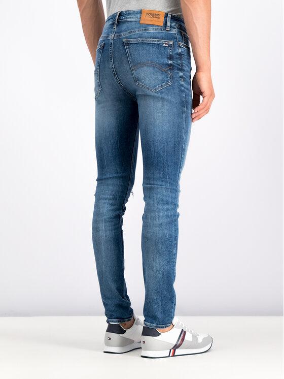 Tommy Jeans Tommy Jeans Džinsai DM0DM06384 Mėlyna Skinny Fit
