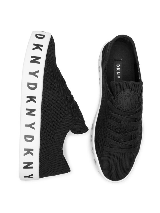 DKNY DKNY Sneakersy Banson K4891177 Čierna