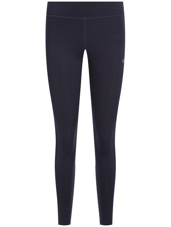 Calvin Klein Performance Calvin Klein Performance Leggings Full Lenght Tight 00GWH9L612 Blu scuro Slim Fit