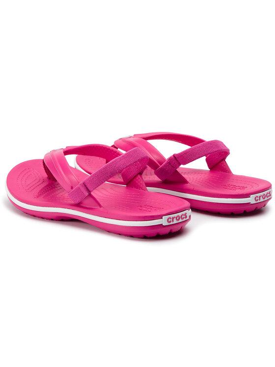 Crocs Crocs Sandales Crocband Strap Flip K 205777 Rose