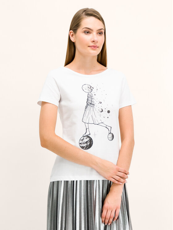 Pennyblack Pennyblack T-Shirt I9745019 Weiß Regular Fit