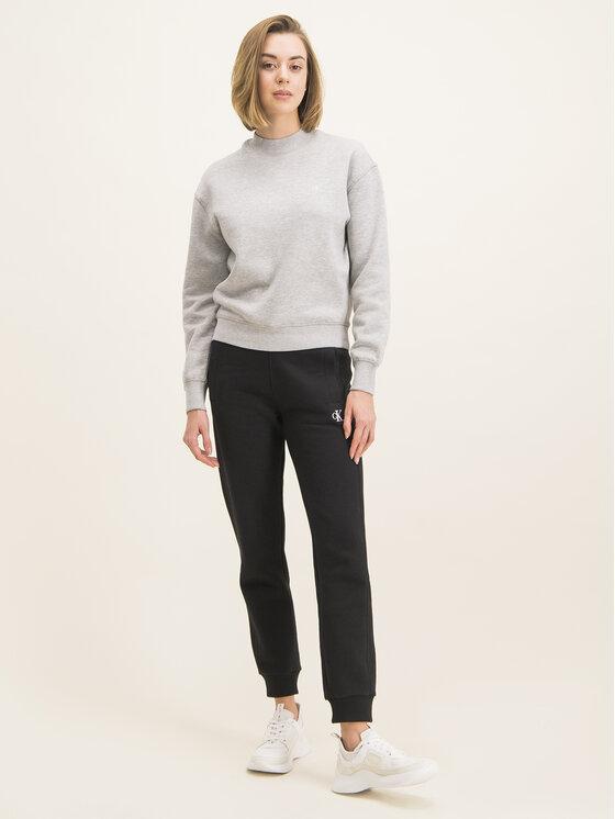 Calvin Klein Jeans Calvin Klein Jeans Sweatshirt Embroidered Logo J20J212875 Grau Regular Fit