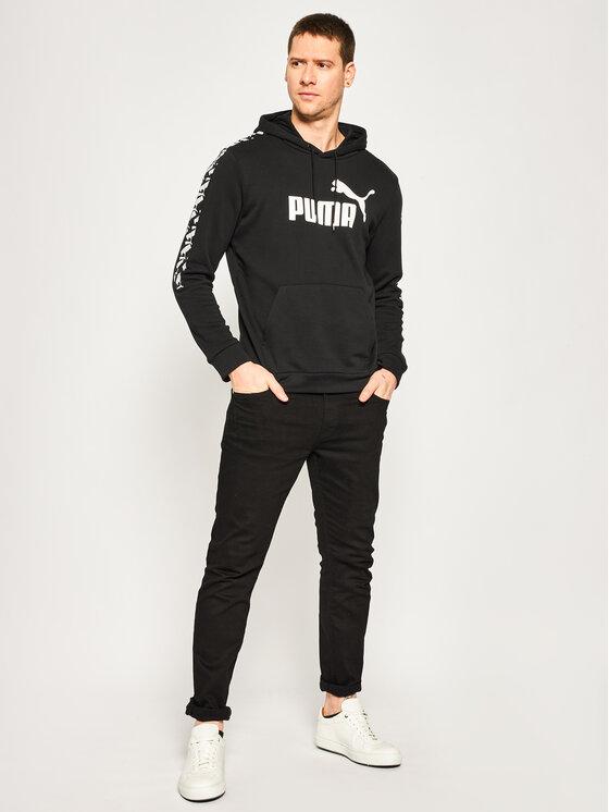 Puma Puma Felpa Amplified Hoody Tr 581393 Nero Regular Fit