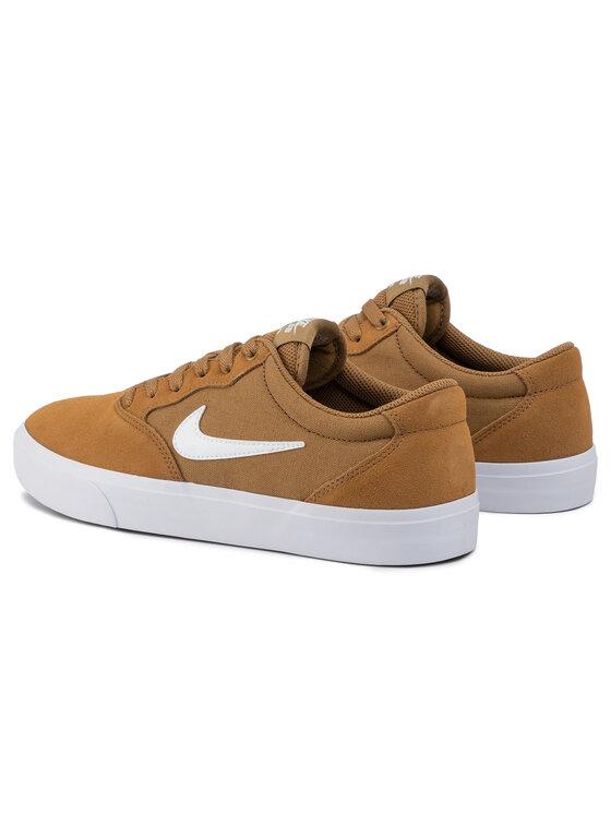 Nike Nike Buty Sb Chron Slr CD6278 200 Brązowy