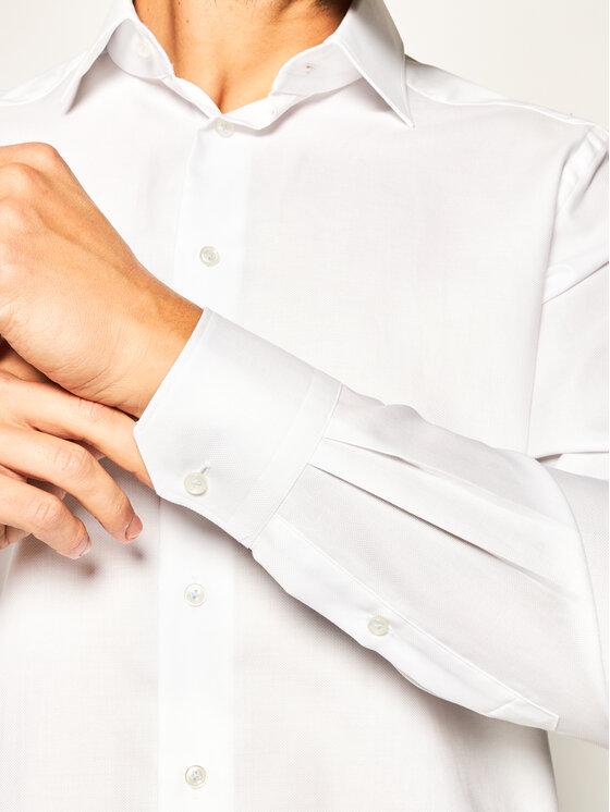 Emanuel Berg Emanuel Berg Πουκάμισο Crown PEB46897 Λευκό Modern Fit