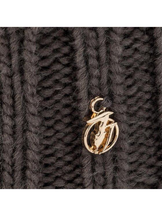 Trussardi Trussardi Σκούφος Hat Pon Pon Knitted 59Z00007 Γκρι