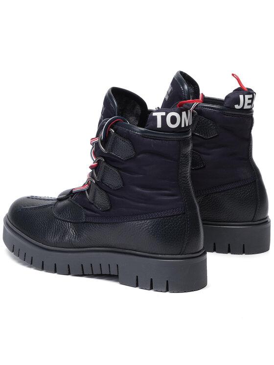 Tommy Jeans Tommy Jeans Tronchetti Padded Tongue Duckboot EN0EN00614 Blu scuro