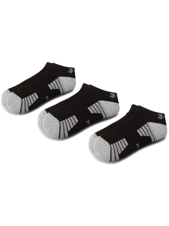 Under Armour Under Armour Sada 3 párů dámských nízkých ponožek Heatgear Tech Locut Socks 3Pk 1312430-001 Černá