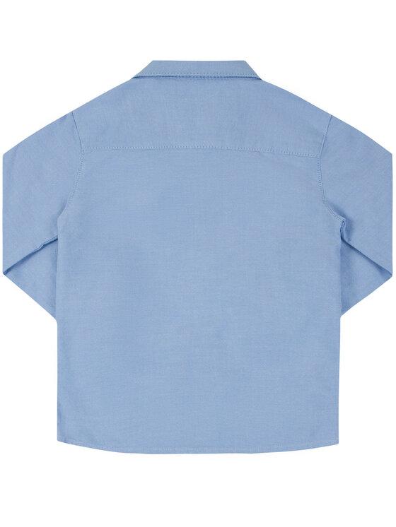 Mayoral Mayoral Hemd 113 Blau Regular Fit