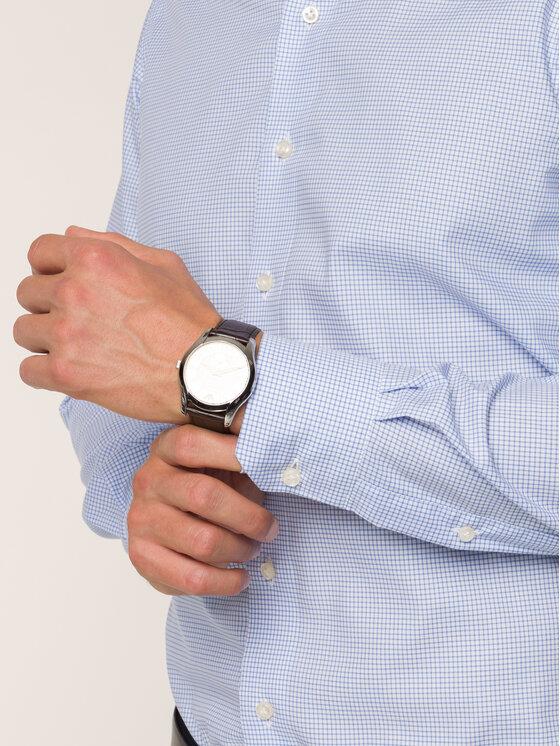 Emanuel Berg Emanuel Berg Camicia MCR37 Blu Slim Fit