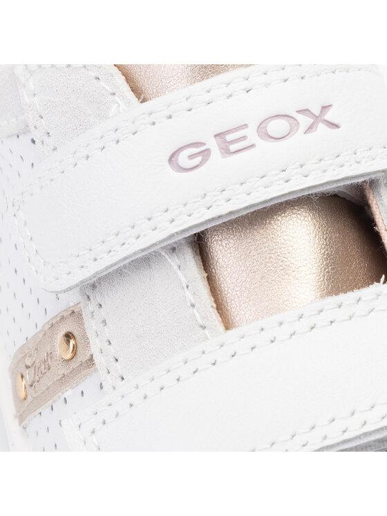 Geox Geox Сникърси J Kliwi G. M J92D5M 08522 C1000 S Бял