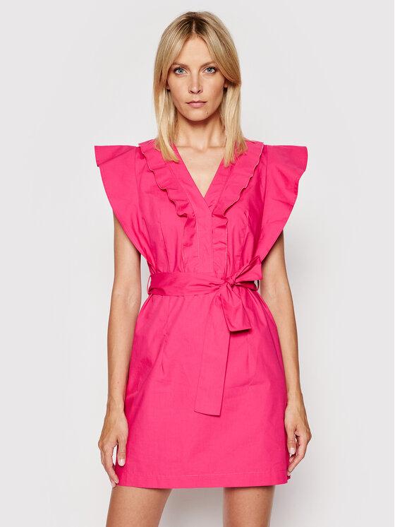 Rinascimento Kasdieninė suknelė CFC0103605003 Rožinė Regular Fit