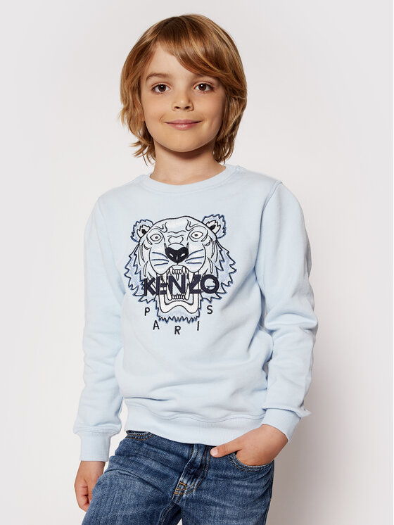 Kenzo Kids Džemperis K25088 S Mėlyna Regular Fit