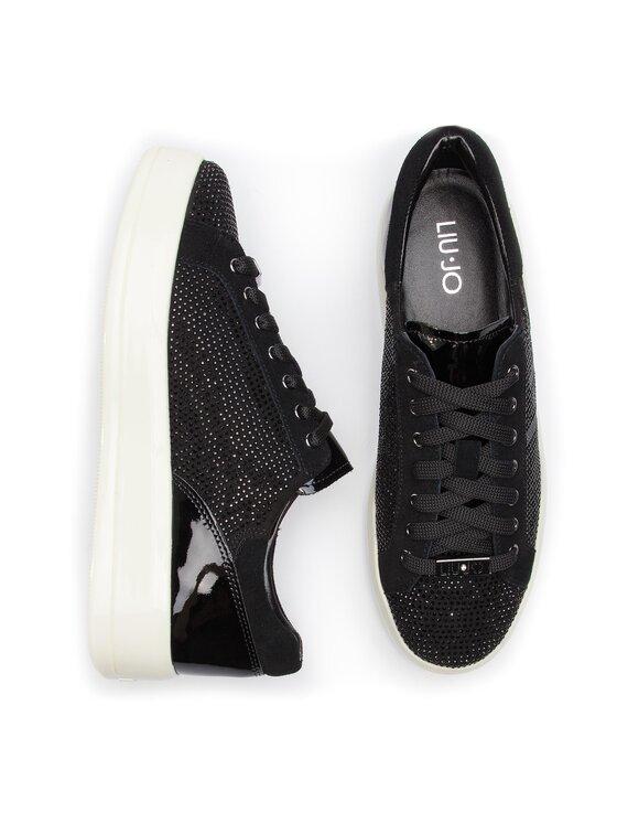 Liu Jo Liu Jo Sneakersy Kim 07 B19015 TX011 Černá