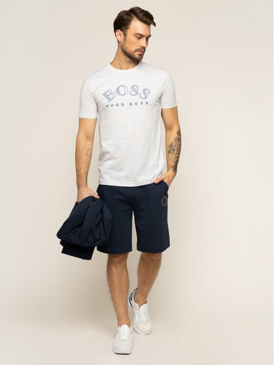 Boss Boss T-shirt Tee 1 50424014 Grigio Regular Fit