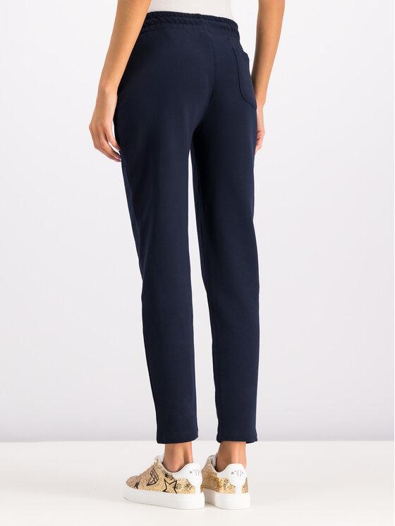 Trussardi Trussardi Spodnie dresowe 56P00160 Granatowy Regular Fit
