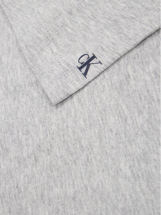 Calvin Klein Jeans Calvin Klein Jeans Тишърт Contrast Pocket IB0IB00353 Сив Regular Fit