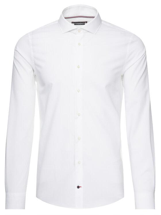 Tommy Hilfiger Tailored Tommy Hilfiger Tailored Camicia TT0TT01936 Bianco Slim Fit