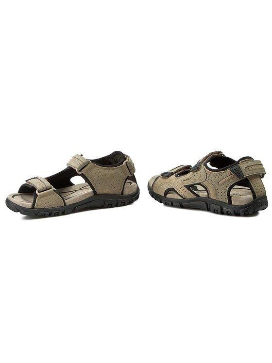 Geox Geox Sandále U S. Strada A U6224A 0BC50 C5004 Béžová